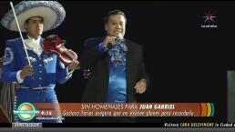 ¡Los homenajes a Juan Gabriel quedan cancelados!