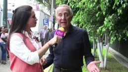"¡Patricio Castillo interpreta a un ""viejo libidinoso""!"