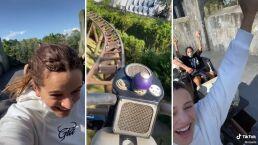 Un día con Rosalía en un parque de atracciones: 'El mejor plan de todos'