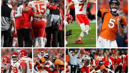 Los Kansas City Chiefs vencen a los Denver Broncos 30-6, pero pierden a Patrick Mahomes por lesión en la rodilla.