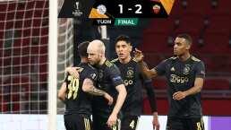 Autosabotaje de Edson y el Ajax en la Europa League