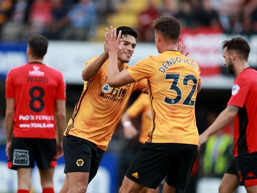 Crusaders v Wolverhampton Wanderers – UEFA Europa League Second Qualifying round: 2nd Leg