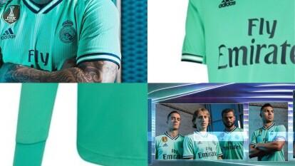 El Real Madrid dio a conocer cuál será su tercer uniforme de cara a la temporada 2019-20 de La Liga y si bien, no cambia de marca (Adidas), el color escogido es de llamar la atención. Conoce la equipación alternativa de los Merengues.