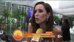 Jaqueline Bracamontes entrevistó a Pelé