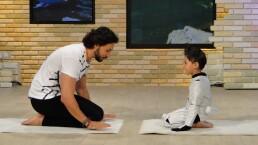 Yoga para niños, con Alejandro Maldonado