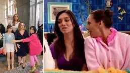 Angelique Boyer y Erika Buenfil muestran su lado P. Luche al imitar a Bibi y a Federica