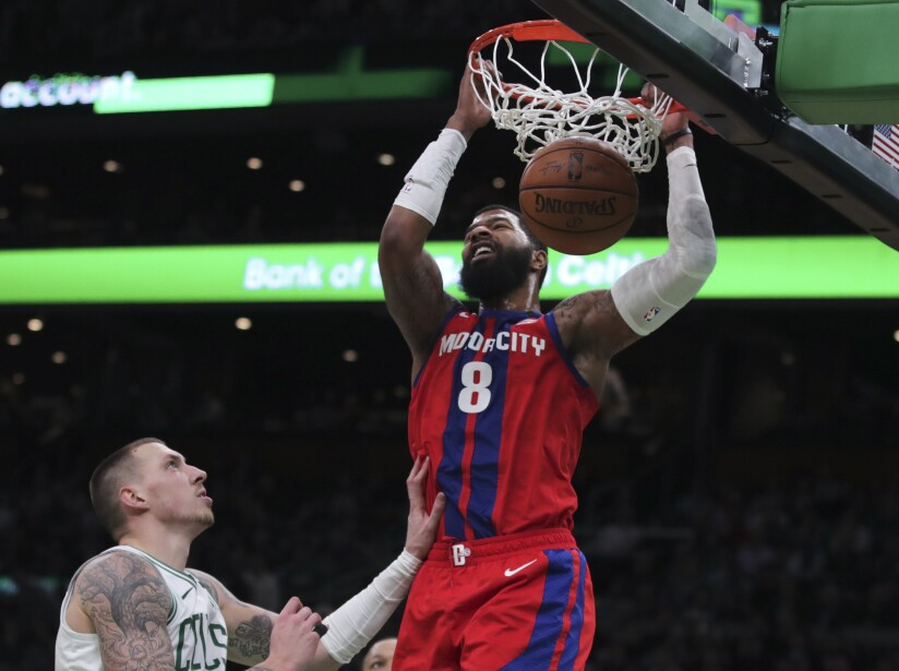Boston Celtics 103-116 Detroit Pistons
