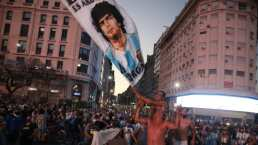 Convocan a movilización por la muerte de Diego Maradona
