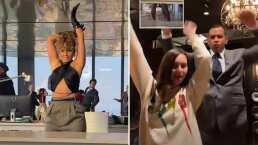 JLo pone a bailar a su prometido, Alex Rodríguez, con 'Pa' ti Challenge'