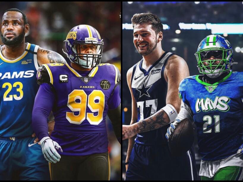 NFL y NBA, Portada.jpg