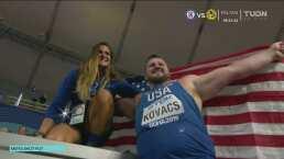 Kovacs se proclama campeón en lanzamiento de bala