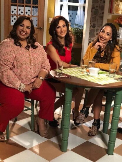 Las ves bien sonrientes y todo, pero están planeando el ¡¡Dieta Challenge !!