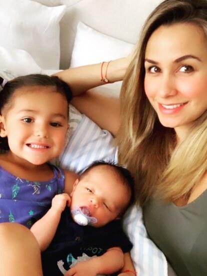 Desde que nació Rocco, la conductora no ha dejado de compartir fotos y detalles del crecimiento de su bebé.