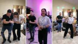Niurka se avienta bailongo con las mañanitas al estilo cubano que le cantaron en su cumpleaños