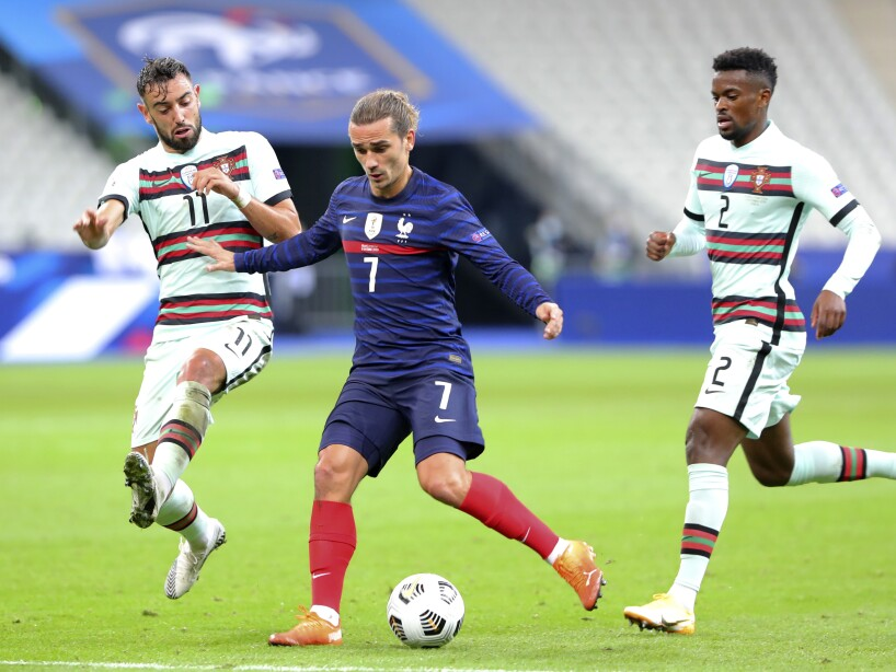 France Portugal Nations League Soccer