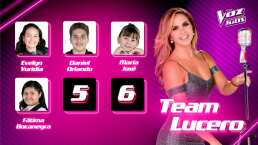 Talento y carisma prevalece en los semifinalistas del Team Lucero