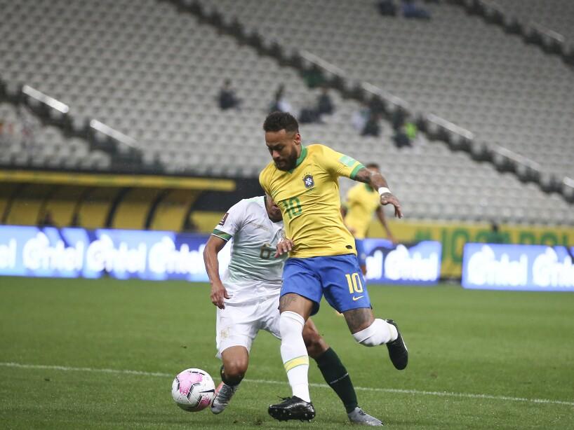 Brazil Bolivia WCup Soccer
