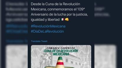 Principalmente clubes de la Liga MX se manifestaron en redes por el aniversario del inicio de la Revolución Mexicana.