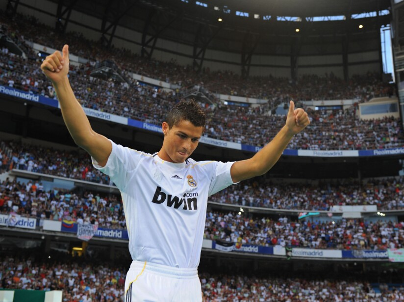Real Madrid Presents Cristiano Ronaldo As New Player