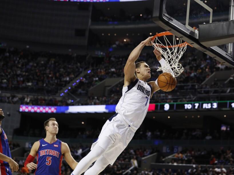 APTOPIX Mexico Pistons Mavericks Basketball
