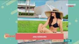 Ana Bárbara deja sin aliento a sus seguidores al lucir un traje de baño negro