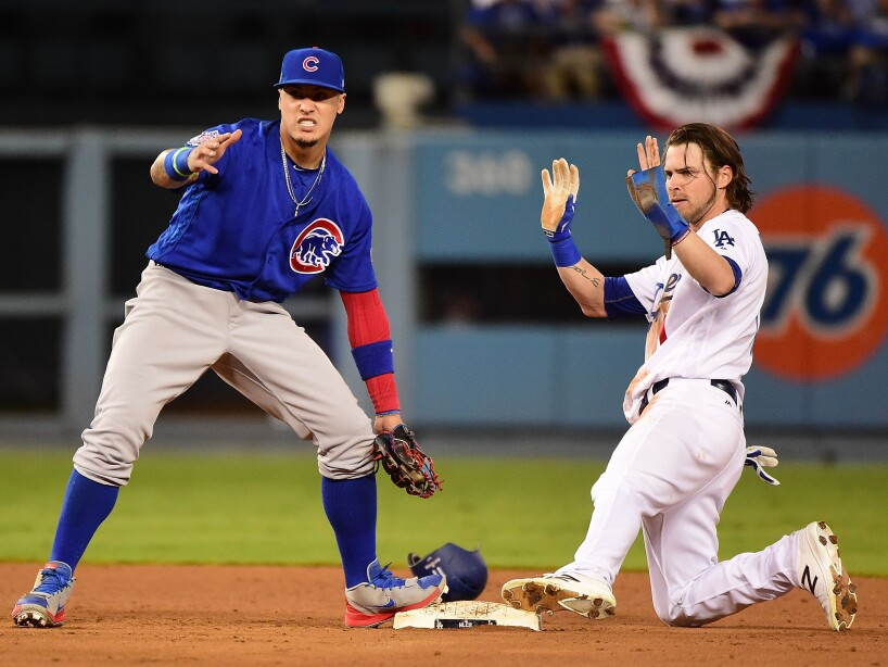 NLCS - Chicago Cubs v Los Angeles Dodgers - Game Three