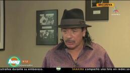 ¡Carlos Santana reaparece en exclusiva para Hoy!