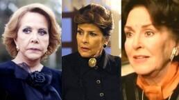 ¡Las abuelas más desalmadas de las telenovelas!