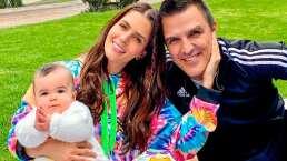 Claudia Álvarez muestra la travesura que su bebé Kira le hizo a su esposo, Billy Rovzar