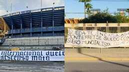 Aldo Farías le contesta a 'La Adicción' de Rayados por mantas de Tigres