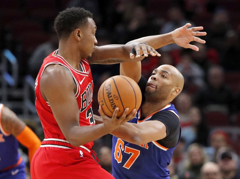 Los New York Nicks caen ante Chicago Bulls y se mantienen al fondo de la Conferencia Este.