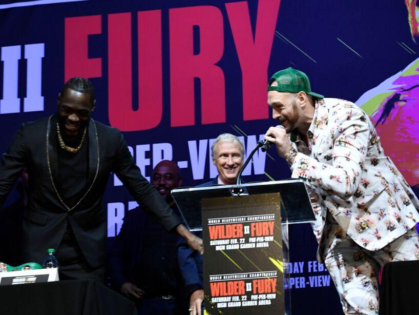 Deontay Wilder v Tyson Fury - Press Conference