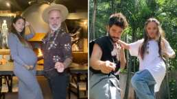 A Gianluca Vacchi y a Sharon Fonseca les gusta tanto 'Vida de Rico' que hasta su bebé baila con ellos