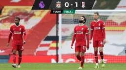 ¡Se desploma! Liverpool cae ante Fulham y no ve el fondo de la crisis