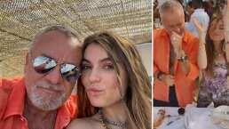 """Sofía y el """"Güero"""" Castro se divierten bailando como nunca en fiesta en la playa"""