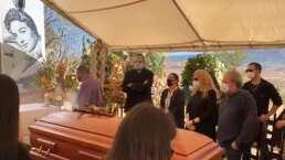 Entre música y con misa de cuerpo presente, dan el último adiós a Flor Silvestre