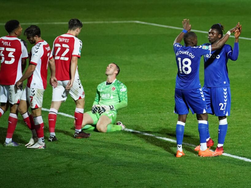 Fleetwood Town v Everton - Carabao Cup Third Round
