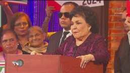 'Más noche' propone a Carmen Salinas como Presidenta de México 2024: Estas serían sus propuestas