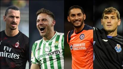Ellos son los veteranos más valiosos dentro del futbol.