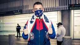 Álvaro Fidalgo ya está en México y portará el número de un multicampeón