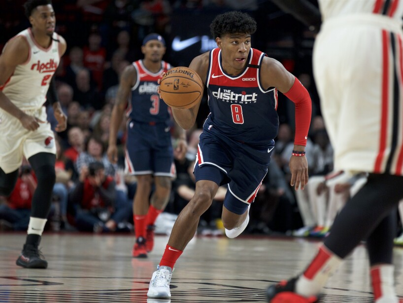 Wizards Trail Blazers Basketball