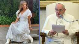 """""""Yo le voy a besar la mano al Papa"""": Galilea Montijo revela que solicitó una audiencia en el Vaticano"""