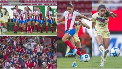 América y Chivas Femenil se enfrentaron por primera vez en Fase Regular.