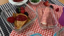 Lunch para el regreso a clases 5: Pan francés con frutos rojos