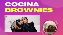 Rosalía intentó hacer una receta para brownies y todo se salió de control