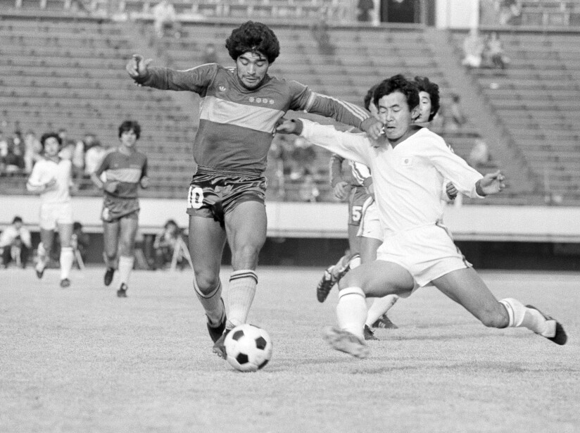 Diego Maradona Action