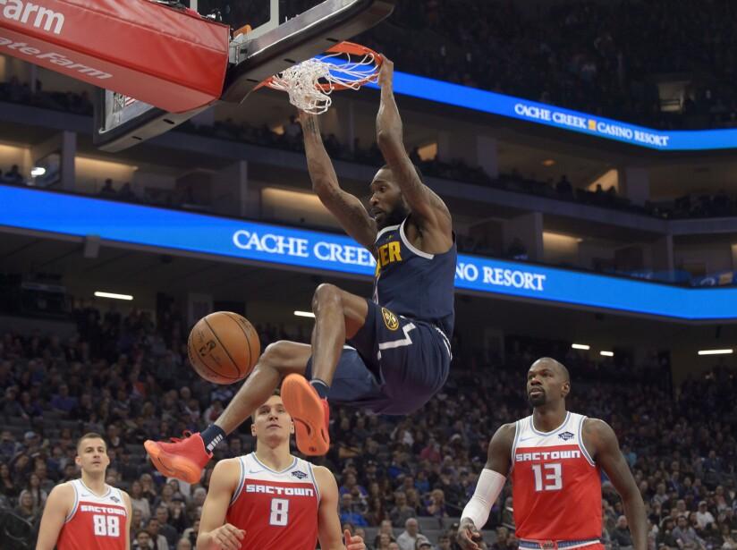 Nuggets Kings Basketball