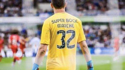 El portero argentino mantuvo su meta en cero en la victoria del Porto 2-0 sobre el Santa Clara.