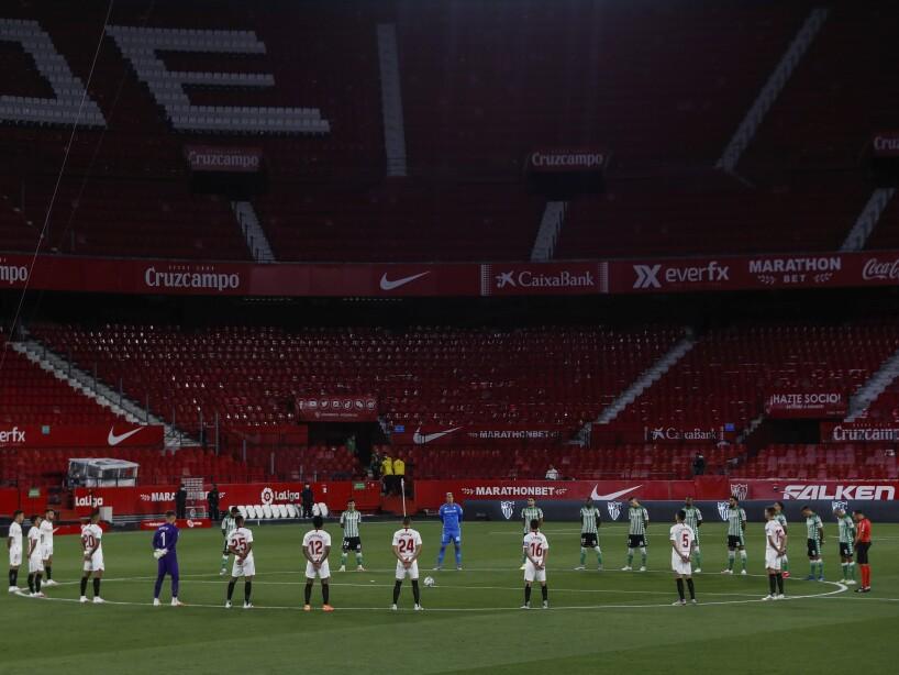 APTOPIX Spain Soccer La Liga Restart