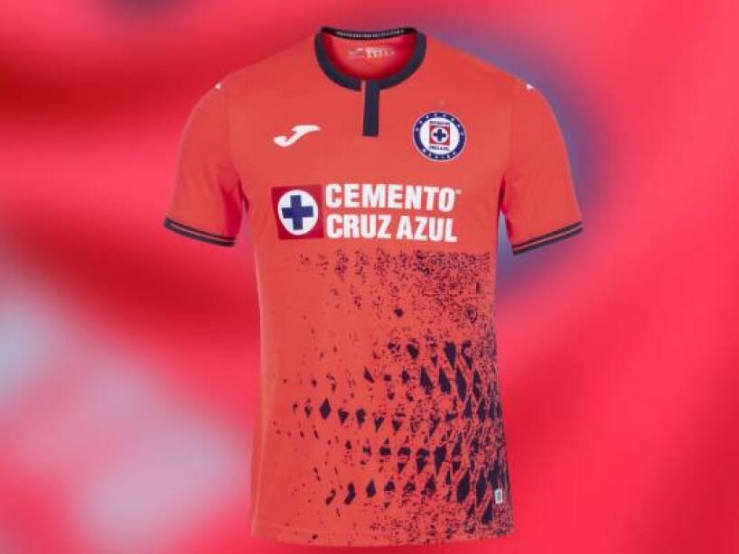 Playeras de local de Cruz Azul